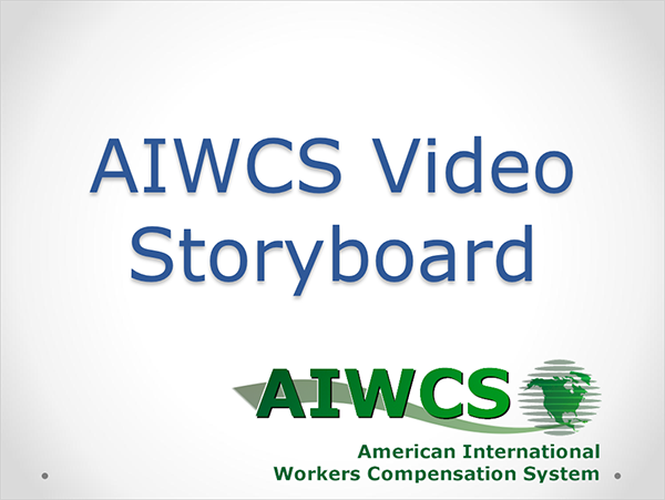 awareness video storyboard