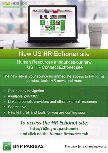 HR services promotion
