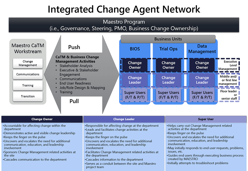 change agent network strategy