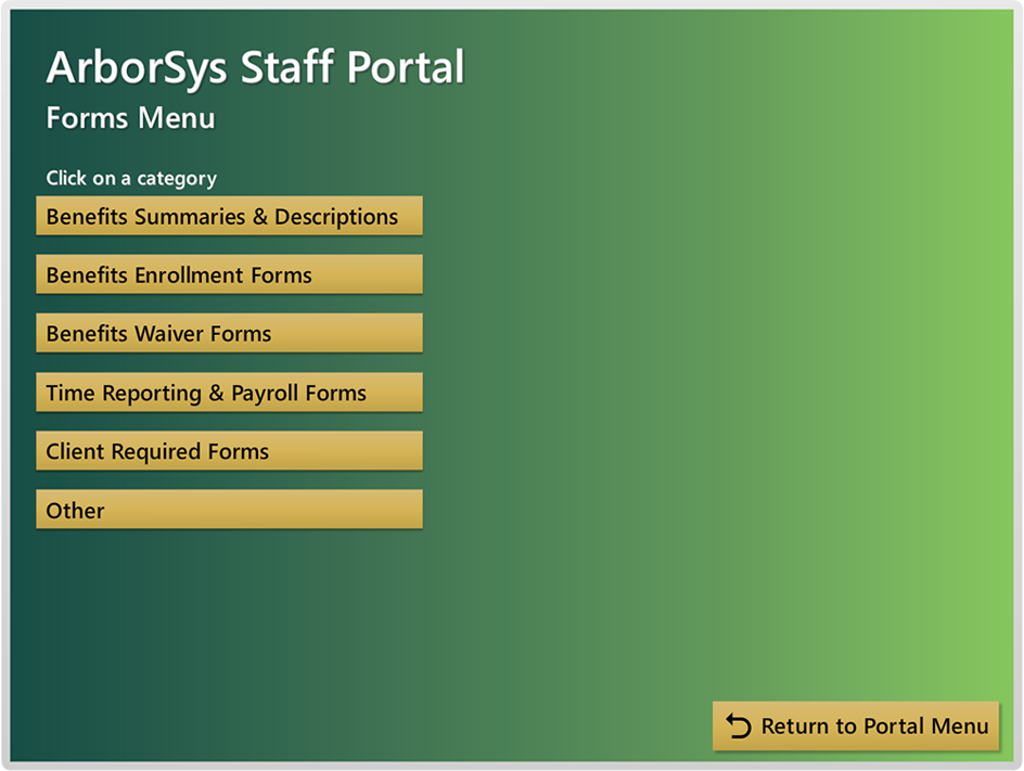 staff portal on-boarding orientation resources